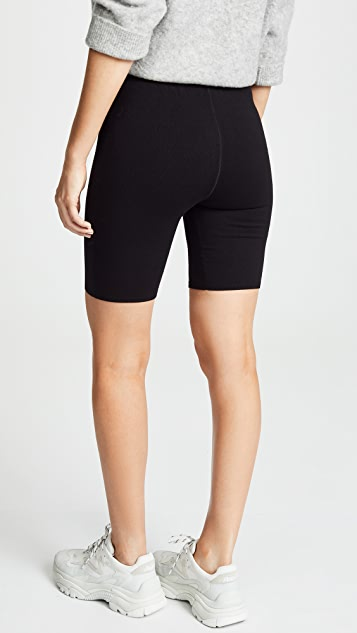 alexanderwang.t Bodycon Basic Biker Shorts