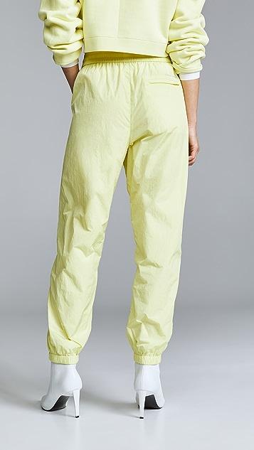 alexanderwang.t Nylon Pants with Reflective Print Detail