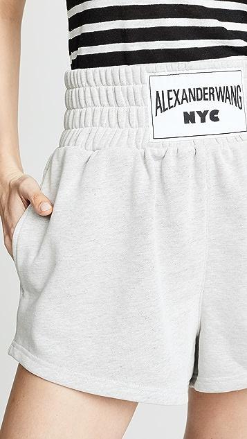 alexanderwang.t Lightweight Terry Shorts