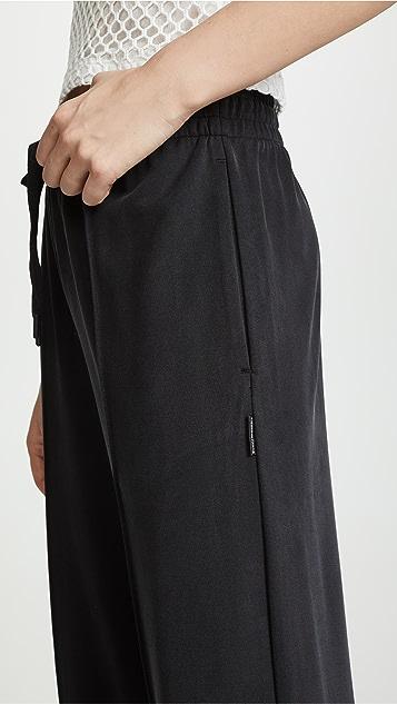 alexanderwang.t Cupro Jersey Wide Leg Pants