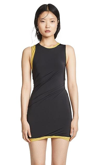 alexanderwang.t Shiny Sleeveless Dress