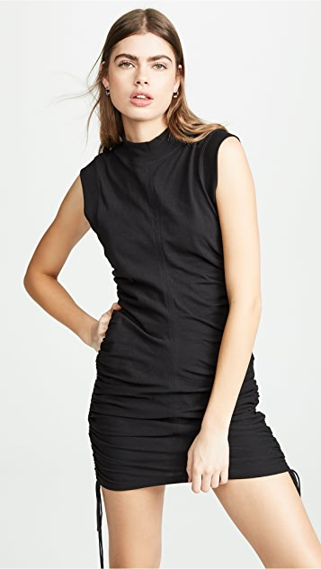 alexanderwang.t High Twist Jersey Dress with Ties
