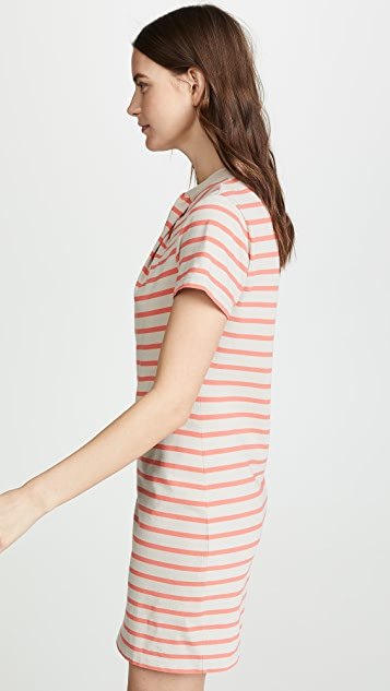 alexanderwang.t Thin Stripe High Twist Dress