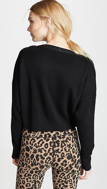 alexanderwang.t Snap Detail Sweater