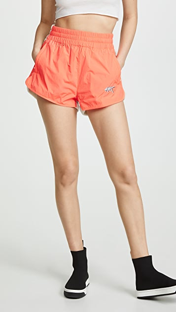 alexanderwang.t Washed Nylon Shorts