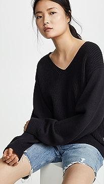 Utility V Neck Sweater