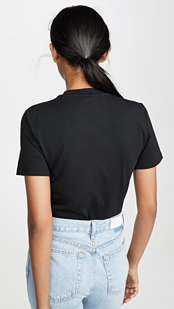 alexanderwang.t 紧凑型平纹针织丁字裤紧身连体衣