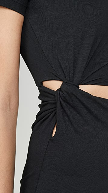alexanderwang.t Платье из джерси Compact