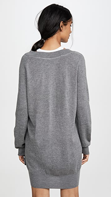 alexanderwang.t Bi-Layer Sweater Dress