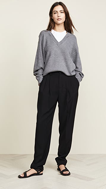 alexanderwang.t Bi-Layer V Neck Sweater