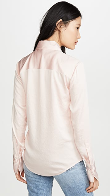 alexanderwang.t Wash & Go Long Sleeve Shirt
