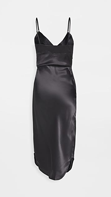 alexanderwang.t Cami Midi Dress with Waist Twist Detail