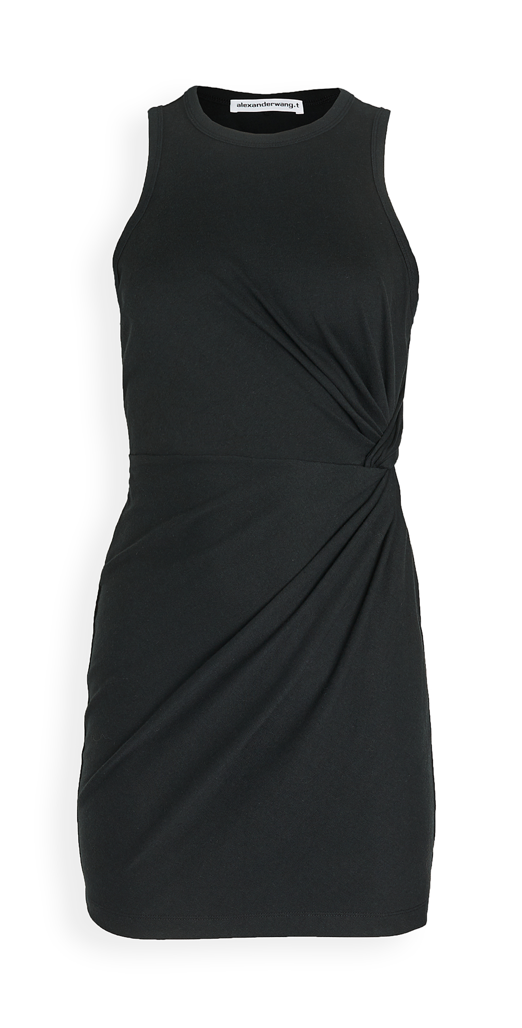 alexanderwang.t Heavy Soft Jersey Fitted Tank Dress