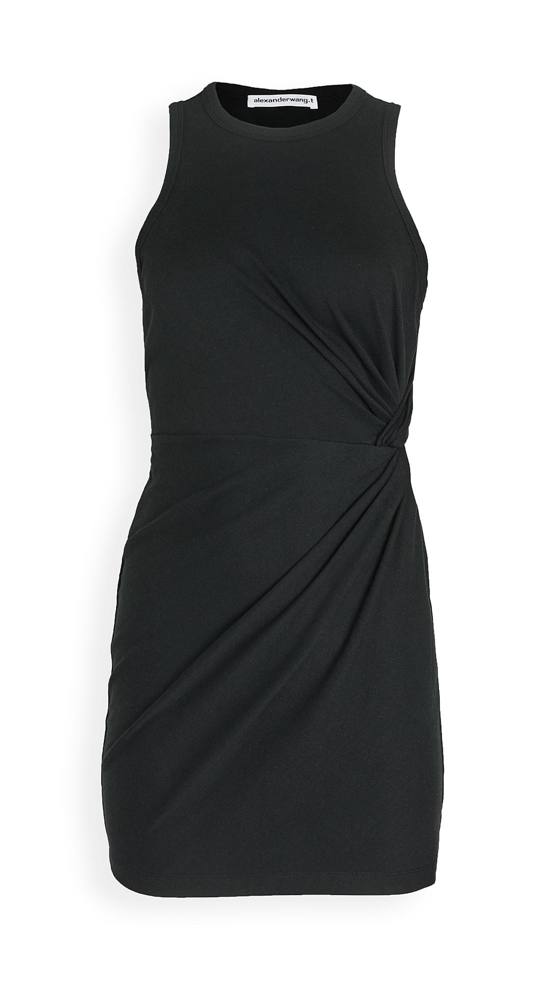 alexanderwang.t Heavy Soft Jersey Fitted Tank Dress
