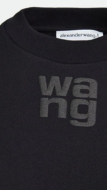 alexanderwang.t 基础款圆领运动衫