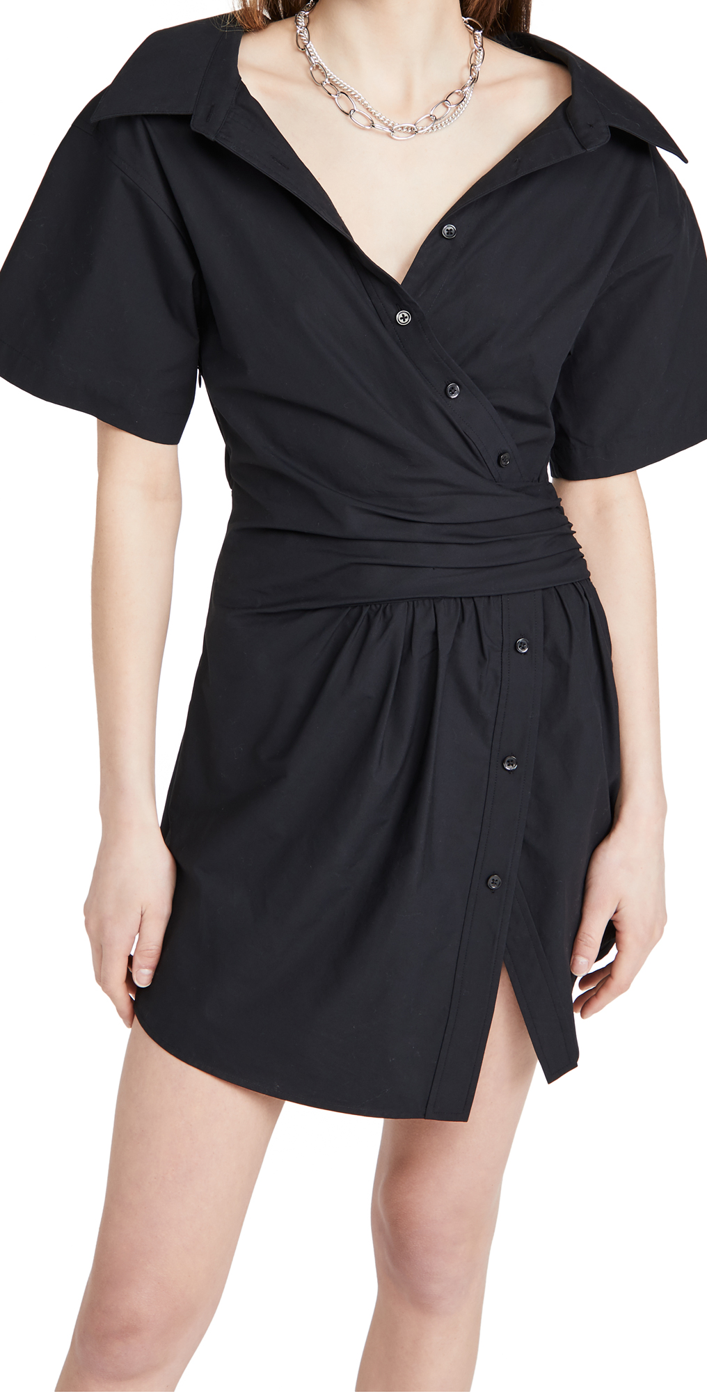 alexanderwang.t Button Down Shirtdress