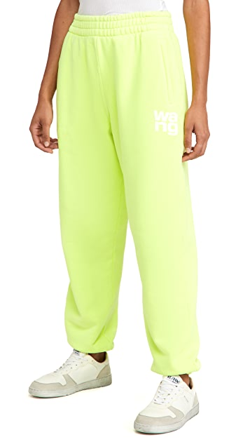 alexanderwang.t Structured Terry Classic Sweatpants