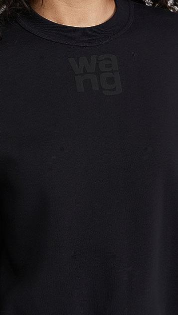 alexanderwang.t Foundation Terry Crew Neck Sweatshirt