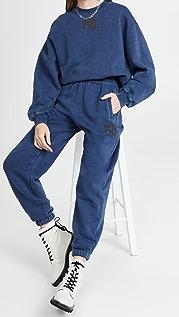 alexanderwang.t Structured Terry Crewneck Sweatshirt