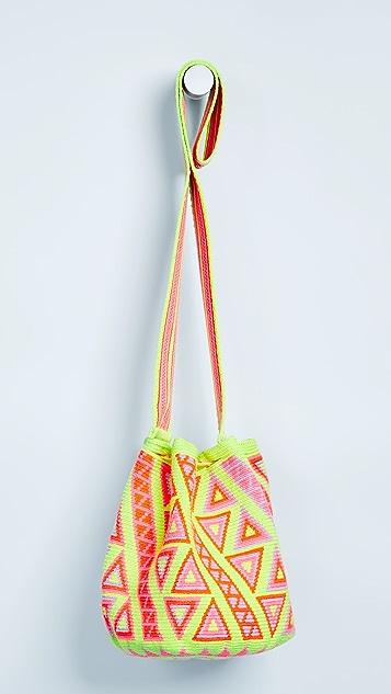 The Way U Medium Printed Mochilas Bucket Bag