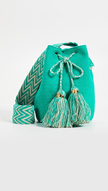 The Way U Large Mochila Bag - Jade