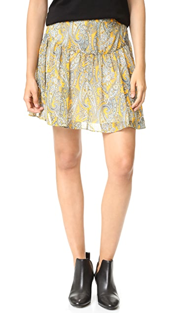Twelfth St. by Cynthia Vincent Shirred Skirt