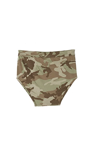 The White Briefs Camo Briefs