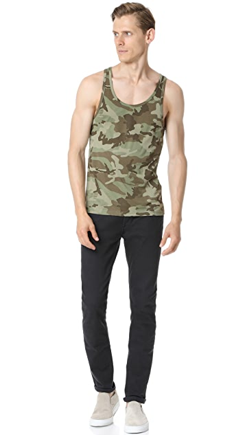 The White Briefs Camo Tank