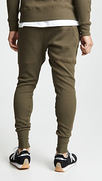 Twenty Everest Thermal Raw Edge Pants