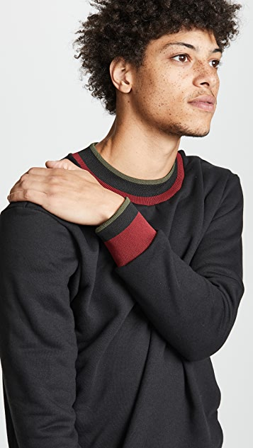 Twenty Mock Neck Fashion Band Sweater