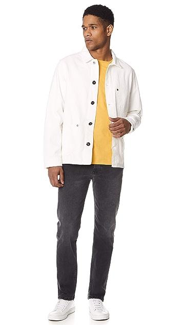 TOM WOOD Blue Worker Jacket