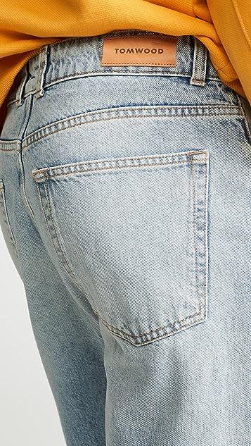 TOM WOOD Carrot Fit Denim Jeans