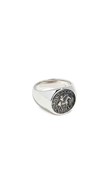 TOM WOOD Coin Ring