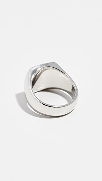 TOM WOOD Cushion Satin Ring