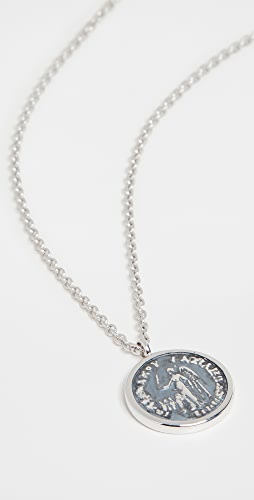 TOM WOOD - Coin Pendant Angel Necklace