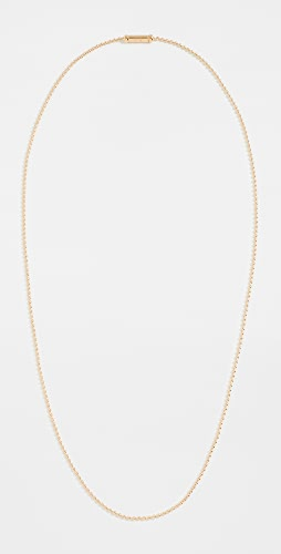 TOM WOOD - Ball Chain Gold Necklace
