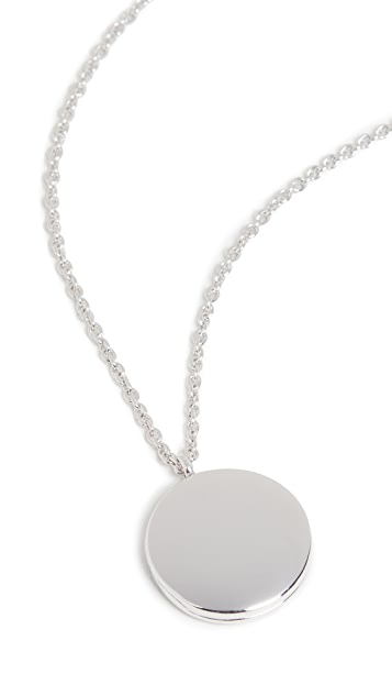 TOM WOOD Medallion Necklace
