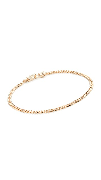 TOM WOOD Curb Bracelet