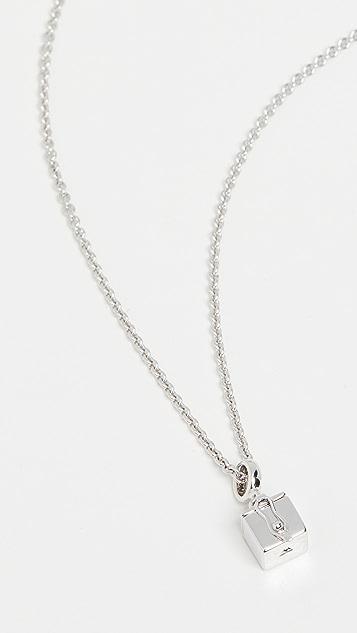 TOM WOOD Box Pendant Necklace