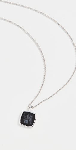 TOM WOOD - Eros Cushion Pendant Necklace