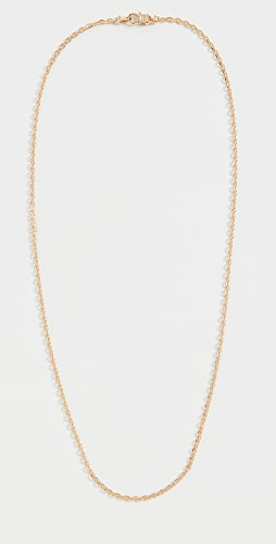 TOM WOOD - Anker Chain Slim Gold Necklace