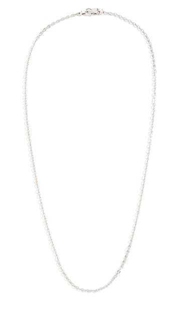 TOM WOOD Anker Chain Slim Necklace