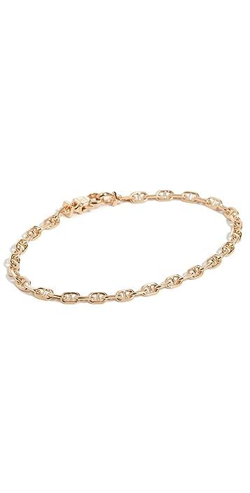 TOM WOOD Cable Bracelet Gold