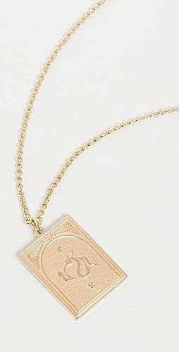 TOM WOOD - Tarot Lovers Pendant Necklace
