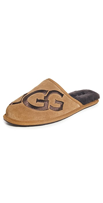UGG Scuff Logo Slippers
