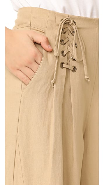Ulla Johnson Gaucho Trousers
