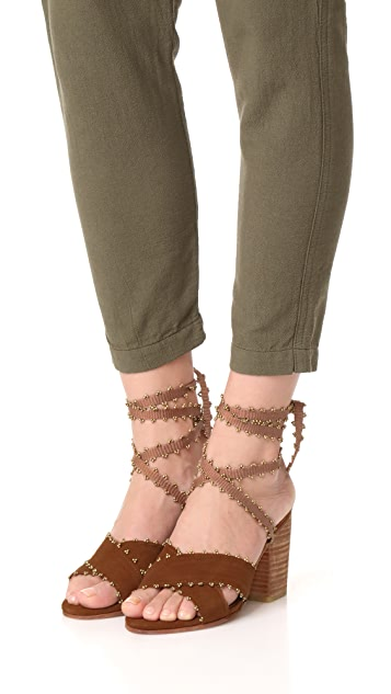 Ulla Johnson Rowena Block Heels