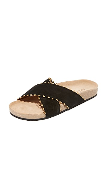 Ulla Johnson Babette Suede Slides