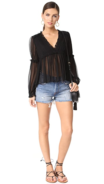 Ulla Johnson Silva Blouse