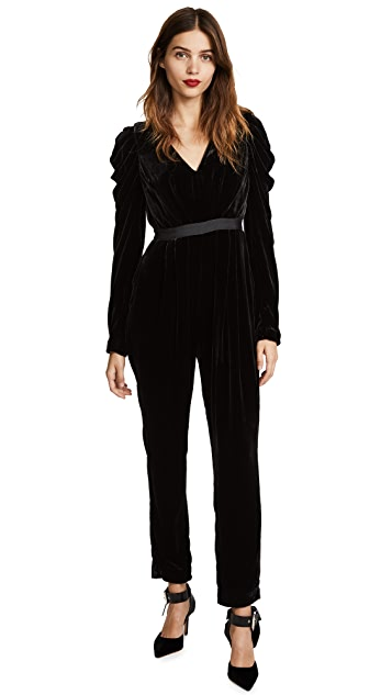 Ulla Johnson Sabine Velvet Jumpsuit